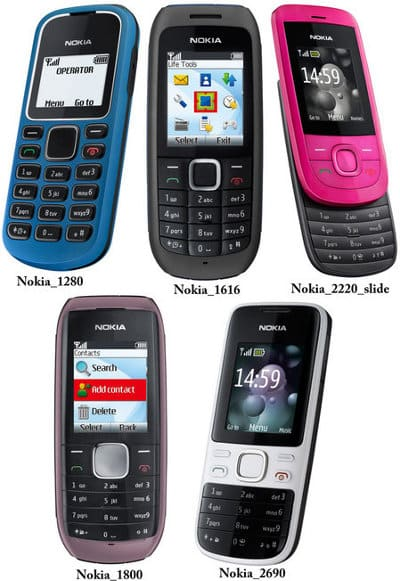 celulares 2010