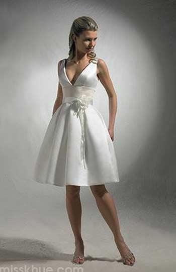 Vestidos de novia cortos corte ingles