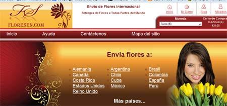 envio flores online